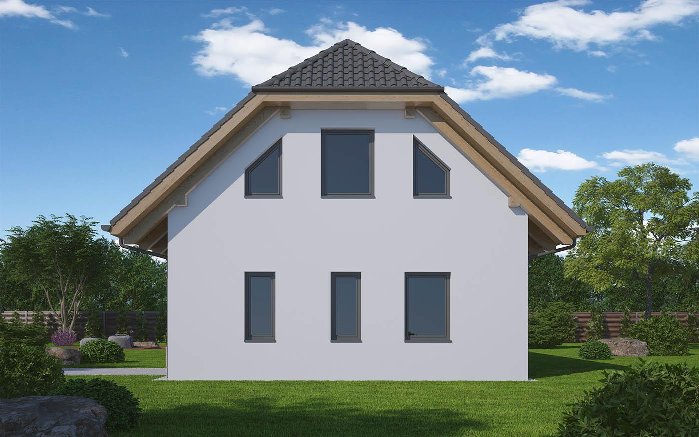 pohľad - perspektíva domu N7 - 7
