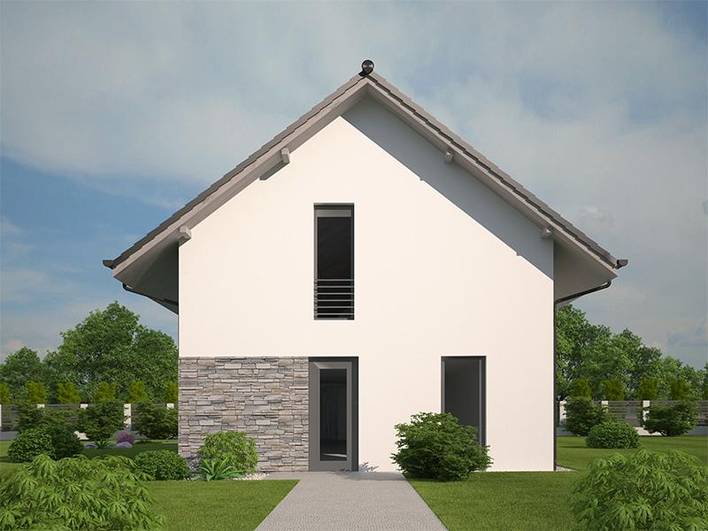 pohľad - perspektíva domu Pavla 10A